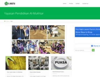 al-mukhtar.com screenshot