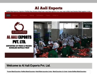 alaaliexports.co.in screenshot
