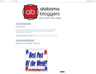 alabamabloggers.com screenshot
