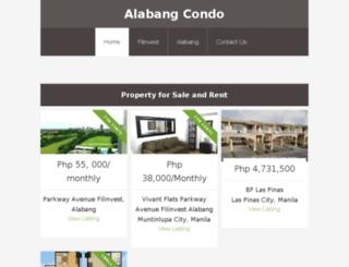 alabangcondominium.com screenshot