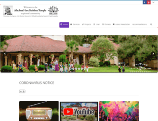 alachuatemple.com screenshot