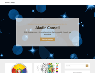 aladin-conseil.fr screenshot