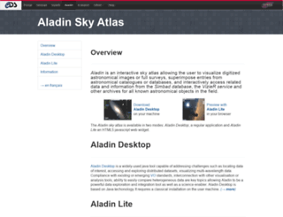 aladin.u-strasbg.fr screenshot