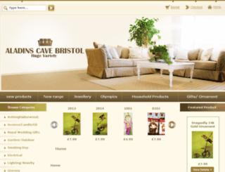 aladinscavebristol.com screenshot