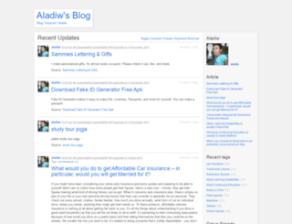 aladiw.wordpress.com screenshot