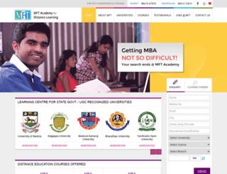 alagappauniversity.in screenshot