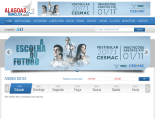 alagoasnumclick.com.br screenshot