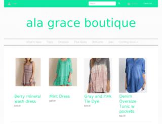 alagraceboutique.com screenshot