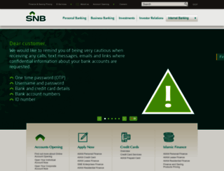 alahli.com screenshot
