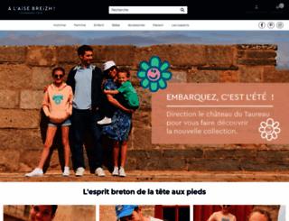 alaisebreizh.com screenshot