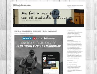 alakan.wordpress.com screenshot