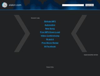 alakiri.com screenshot