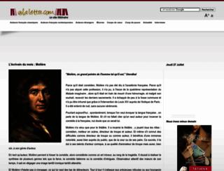 alalettre.com screenshot