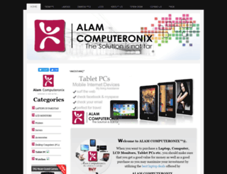alamcomputeronix.synthasite.com screenshot