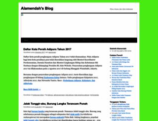 alamendah.wordpress.com screenshot
