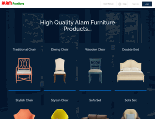 alamfurniture.com screenshot