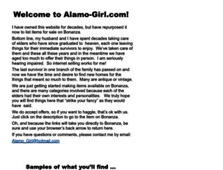 alamo-girl.com screenshot