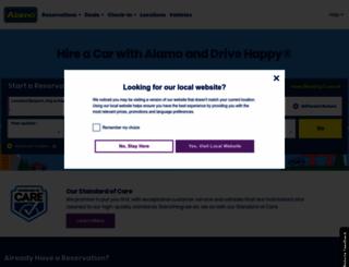 alamo.co.uk screenshot