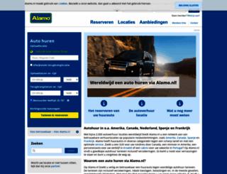 alamo.nl screenshot