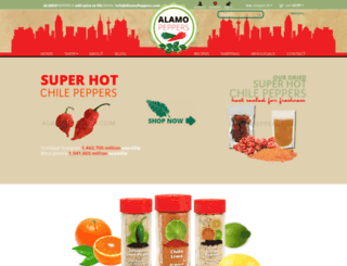alamopeppers.com screenshot