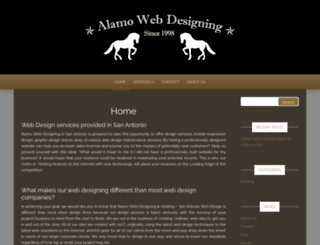 alamowebdesigning.com screenshot