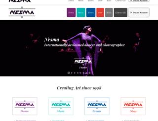 alandalusdanza.com screenshot