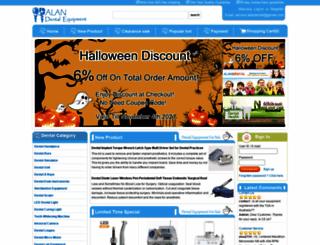 alandental.com screenshot