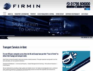 alanfirmin.co.uk screenshot