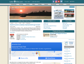 alanhenry.lakesonline.com screenshot