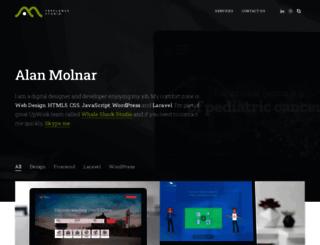alanmolnar.com screenshot
