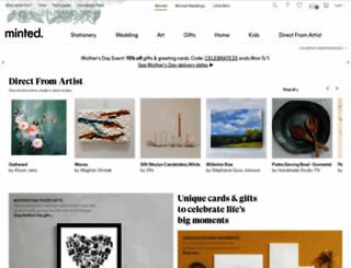 alanna-emil.minted.us screenshot