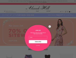 alannahhill.com.au screenshot