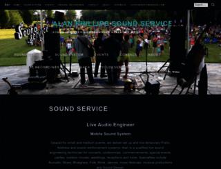 alanphillipssoundservice.com screenshot