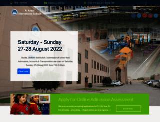 alansarschool.net screenshot