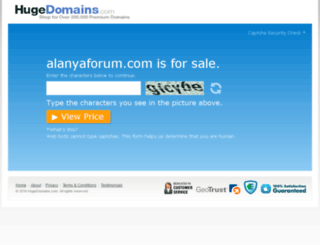 alanyaforum.com screenshot