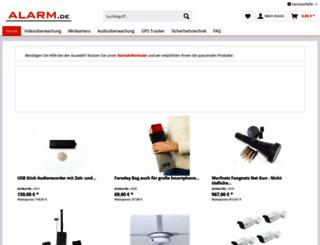 alarm.de screenshot
