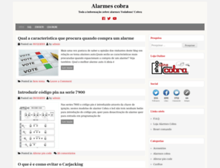 alarmescobra.com screenshot