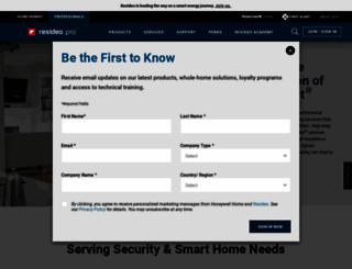 alarmnet.com screenshot
