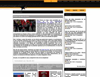 alasbarricadas.org screenshot