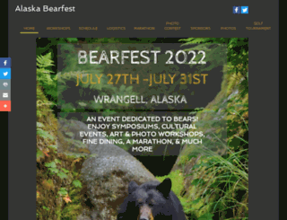 alaskabearfest.org screenshot