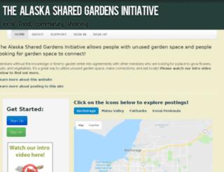 alaskacommons.org screenshot