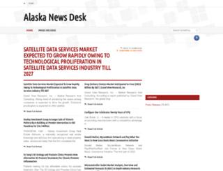 alaskanewsdesk.com screenshot