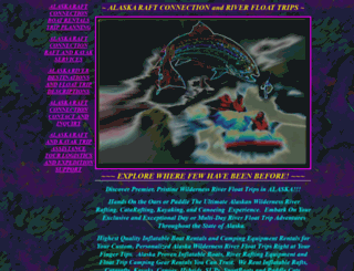 alaskaraftconnection.com screenshot