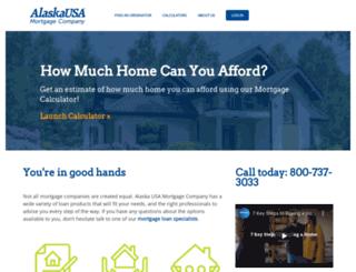 alaskausamortgage.com screenshot