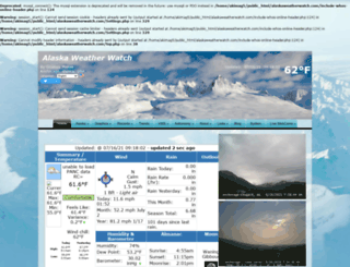 alaskaweatherwatch.com screenshot