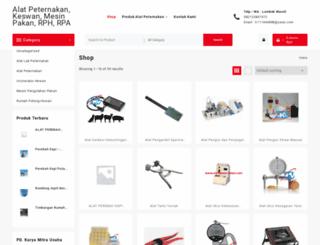 alat-peternakan.com screenshot