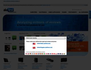 alatest.co.uk screenshot
