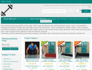 alatfitnesbandung.com screenshot