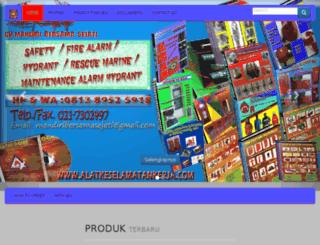 alatkeselamatankerja.com screenshot