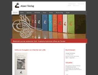 alawi-verlag.de screenshot